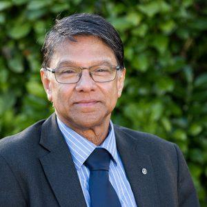 Dr Raj Menon - Chair Trustees Board