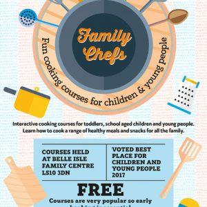 Family Chefs leaflet