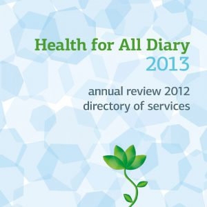 Health for All Diary 2013 cover