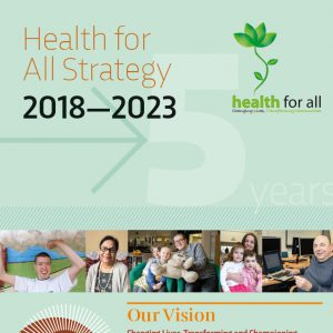 HfA strategy 2018-2023 cover