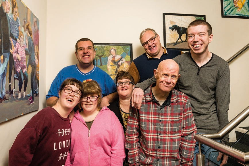 The Bridge is a friendly small scale day service for adults with learning disabilities